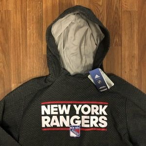 🏒 NWT Adidas New York Rangers NHL Sweatshirt XL
